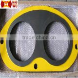 Schwing concrete pump spare parts wear resistant steel plate and wear ring with tungsten carbide