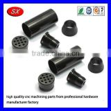 OEM black coating electronic component cnc turning fittings 3D precision aluminum cnc milling machining case