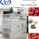 Industrial microwave cabinet fruits dryer/ microwave fruits drying machine/ microwave frutis tray dryer