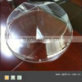 Circular PMMA LED plastic lamp shades