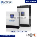 BESTSUN 5KVA 48V 80A Solar inverter with MPPT Solarcharge controller and grid charger 4Kw powe