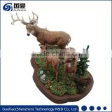 Deer antlers for home decoration craft deer stamd