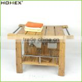 Bamboo Bench Made from Quality Moso Bamboo/Homex_BSCI