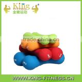 Small Rubber Dumbbell Set