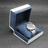 white and velevt fashion mini watch box for women