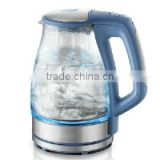 cheap price electric glass jug kettle led light