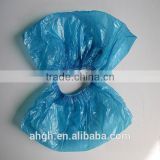 Medical disposable waterproof anti skid PE shoe cover,Nonwoven Fabric of Disposable CPE Shoe Cover for Hospital or Clinic