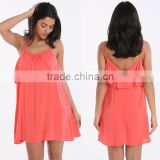 Beach Wrap Dress Coral Solid Blank Beautiful Ladies Cover Up Beachwear Colour Mix Frill Plus Size Beach Dress