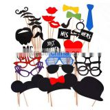 Wedding Party Photo Booth Props Dress-up Photo Booth Props Party Favors Celebration party masks