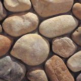Yellow Large River Pebble Stone Rocks Natural Unpolished
