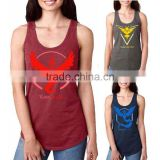 Pokemon Go Team Valor Mystic Instinct Womens Vest Shirt Blouse Tank Casual Tops