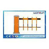 Intelligent Car Park Security Traffic Barrier Gate , Vehicle Access Control Barrier Gate