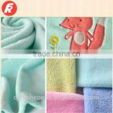 Super soft 100% polyester knitting patterns baby fleece blanket and throw