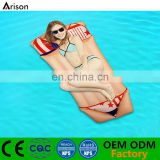 Durable PVC inflatable underwear floating bed inflatable air mattress inflatable air bed