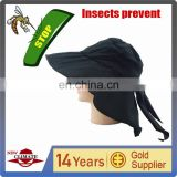 2015 new products,UV hat,mosquito prevent hat,insect prevent,high technic hat,novel product
