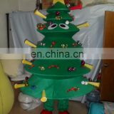Hot sale christmas tree mascot costume, used mascot costumes