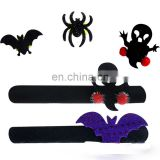 halloween pat illuminated ring flash bracelet luminous decorations circle handcuffs halloween gifts pops ring