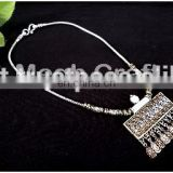 Antique Oxidized Silver Plated Tribal Jewelry Necklace - Designer ethnic oxidized silver jewellery