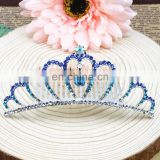 Wedding Birthday Prom Flower Girl Baby Kids Small Rhinestone Tiara Crown Comb