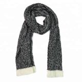 Joy Fashion Scarf Supplier Factory OEM Custom oblong Heather Cable Knit Scarf