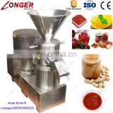 Colloid Mill Tomato Paste Cocoa Bean Grinder Soybean Grinding Peanut Butter Making Machine India