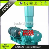 Air cooling three lobes type roots blower fan BMSR-175