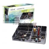 Customized design acrylic cosmetic organizer for make up