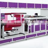 Automatic Multi-color Satin/paper/ribbon Label/non-woven Fabric Silk Screen Printing Machine For Sale/price