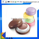 wholesale custom fruity ball shape organic lip balm/cute cup cake lip balm                                                                         Quality Choice
