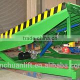 0.5~1.6m, 8 ton hydraulic container loading dock ramp lift /loading ramps for trailers /used loading dock ramp