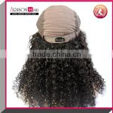 Arison Hair Cheap virgin human hair tight curl lace front wig brazilian unprocessed virgin curly hair