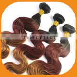 Ombre Hair Weaves Color 1B# -33#-27#
