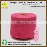 Open End Recycled Cotton Polyester hand Knitting Blended Yarn with Free Samples for Pet Toys