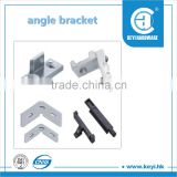 2015 hot wall mounted angle iron bracket / aluminum angle bracket / plastic angle bracket factory price with high quality