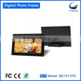 10.1 inch latest design led photo frame, large digital photo frame BL1011PS