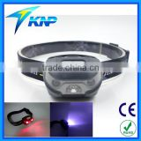 3LED Headlamp Super Bright For Emergency Red White LED Light Using Waterproof And Shockproof Design USB Charging
