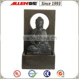 "24.4"" indoor & outdoor sitting large buddha statue fountain"