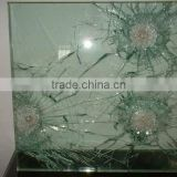 bullet resistant glass door from shandong yaohua with EN12150-1/ CE/ AS/NZS2208 /ISO/ CCC