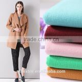 Polyester Viscose Twill plain double-sided composites Fleece wool-like fabric Woolen cloth