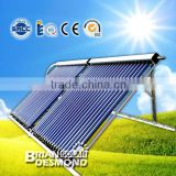 High Efficiency Heat Pipe Solar Collector