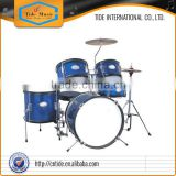 5-pc Junior Drum Set TJ1046, PVC surface, with Stool Cymbals Hi-hat stand Snare stand Pedal