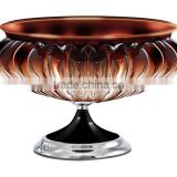 Luxury Life Unique Design Gift for Ladies Gorgeous Crystal Fruit Plate for House Decorate JHF14-9159A
