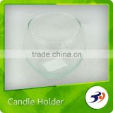 Made In China Cut Glass Tube Candle Holder