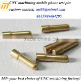 mobile phone battery connector spring loaded test probes Pins