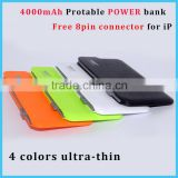 2016 wholesale guangzhou power bank charger high capacity mini flat ultra slim power bank for samsung galaxy s2