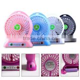 Portable USB Lithium ion batteries standing fan Best Selling Rechargeable Handheld Mini Fan Small cooling Fan                                                                         Quality Choice