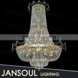 large crystal chandelier luxury hotels pendant light energy saving mini bulbs chandelier