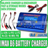 RC Lipo Nimh Nicd Digital Discharger DC LCD Fast iMAX B6 Balance Battery Charger