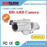 Kendom manufacturer China cctv surveillance system promotional ir ahd weatherproof camera with varifocal lens