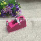 Tape a wholesale tape cutter, the new PVC box packing candy color tape dispenser